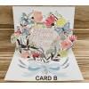 Card B +$5.00