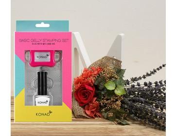 [Gift Set] Konad  Basic Gelly Stamping nail gift set