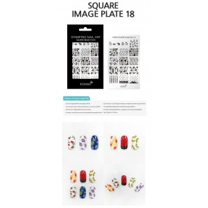 Squre Image Plate - 18
