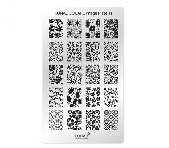 Square Image Plate 11
