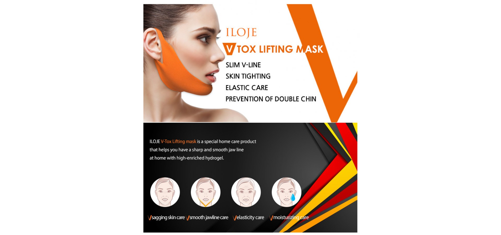 V-tox  lifting mask