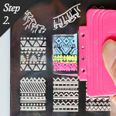 Konad Nail Art Square Stamping Set
